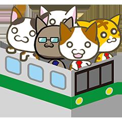 LINEスタンプ猫