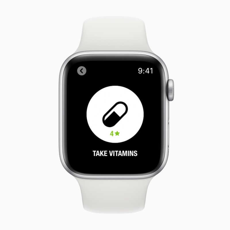 Streaksアプリケーションでは、Siriショートカットを使って日々の習慣を把握できます。水分補給や運動をしたか、さらにはビタミンなどサプリメントの服用やペットの犬の散歩まで、Siriに指示ずれば、どんなアクティビティも記録してくれます。